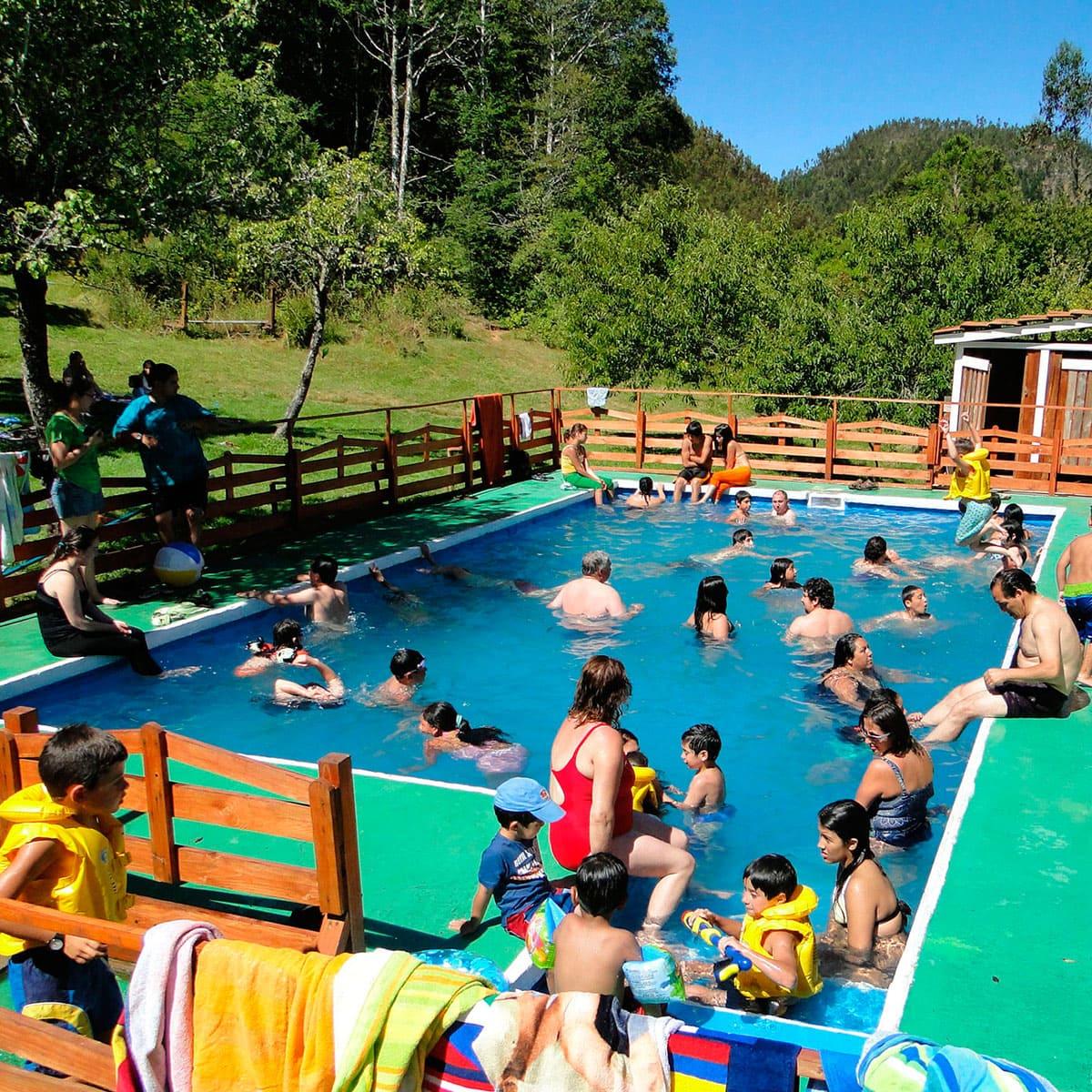 Piscina Turismo Lawenco Puren Chile